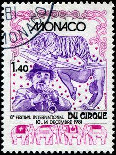 1981 Mónaco - VIII Festival Internacional de Circo