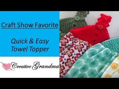 Crochet the Towel Topper - Design Birdy