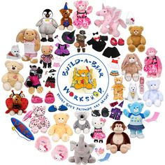 Build-A-Bear Workshop ((@ Branson Landing.. The kids all got a new Build-A-Bear... Such a fun experience for kids.. I know they will always remember being able to do this as kids!! I wish I would have done this when I was little. :)..))
