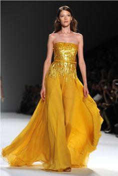 elle saab s/s 2012 - belle's dress updated