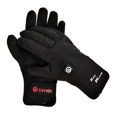 Savior Heated Gloves with Rechargeable Li-ion Battery Heated for Men and Women, Warm Gloves for Cycling Motorcycle Hiking Skiing Mountaineering , Works up to 2.5-6 hours. Three gear is heated quickly and you can feel the temperature in 30 seconds. Includes 2 7.4/2000 MA Lithium batteries, the battery lasts 2.5-4 hours. Velvet lining, put on the most comfortable feeling it for your hands. The back of your hand and fingers are all hot. Try to keep your hands warm during the cold weather…