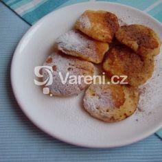 Fotografie receptu: Medovo-jablečné lívance Pancakes, French Toast, Breakfast, Food, Morning Coffee, Essen, Pancake, Meals, Yemek