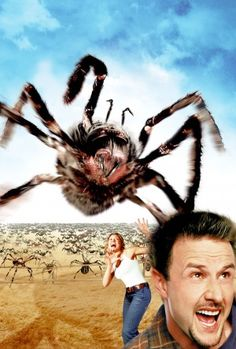 Day 15 - A Monster Movie: EIGHT LEGGED FREAKS, 2002. A toxic waste spill turns a lab full of spiders into giant, town-terrorizing monsters. If this movie would freak out anyone, it would be me - but it's just so darn comical!