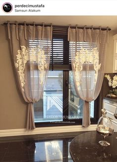 Home Decor ideas Interior And Exterior, Interior Design, Living Spaces, Living Room, In Vino Veritas, Colorful Curtains, Valance Curtains, Curtains Living, Blinds