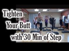 Step Workout: Tighten Your Butt With 30 Minutes Of Step - YouTube. Holy crap.. made it 4:18 before I had to stop for being out of breath.