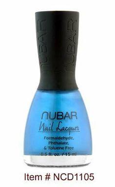 NUBAR-Mali-blue-Nail Lacquer