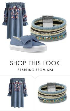 """Untitled #200"" by loiswatson ❤ liked on Polyvore featuring Chicwish, Cara and Nine West"
