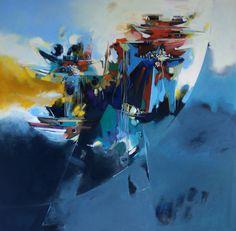 Anonymous - 26 by Bulent Yavuz Yilmaz. Painting, Oil on Canvas, 100 cm x 100 cm…