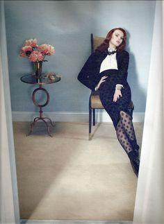 ☆ Karen Elson | Photography by Emma Summerton | For W Magazine | August 2011 ☆ #Karen_Elson #Emma_Summerton #W_Magazine #2011