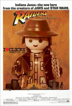Playmobil Movie Poster Series: Raiders of the Lost Ark