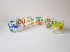 Sap, Fruit, Wine Glass, Vintage, Retro, Tableware, Dinnerware, The Fruit, Dishes
