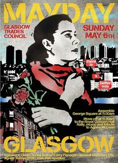 Glasgow MayDay poster