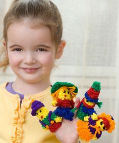FREE - Crochet Little Finger Puppets