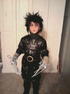 Halloween Costume Edward Scissorhands