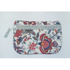 Quilted Pouch Colombe Ecru