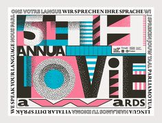 "Language is tricky; Internet is universal: let's make it easy.Designing an identity system for the 5th Annual Lovie Awards, we had the hard task to showcase culture, power and awesomeness while transmitting the core values of award show:""The Lovie Awar…"