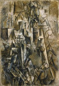 Pablo Picasso - The Poet - August 1911 - Peggy Guggenheim collection Venice