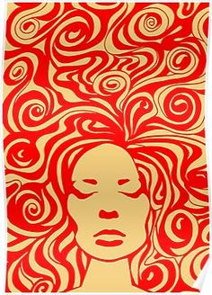 psychedelic' Poster by khuship - retro paintings 60s Art, Retro Art, Arte Banksy, Arte Grunge, Arte Sketchbook, Hippie Art, Tumblr Wallpaper, Retro Wallpaper, Screen Wallpaper