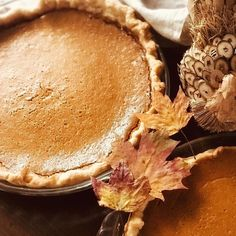 Happy Thanksgiving! . . . . . #pumpkinpie #happythanksgiving2017 #sourcreampumpkinpie #goodforalmosteverythingpiedough #doriegreenspan #bakingfrommyhometoyours #mobile_photography #iphone7plus #iphoneography #homemadepies #skidawayisland #familytime #pies Dorie Greenspan, Thanksgiving 2017, Homemade Pie, Mobile Photography, Sour Cream, Instagram Images, Desserts, Food, Tailgate Desserts