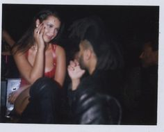 """Bella Hadid and The Weeknd in the music video for """"In The Night"""""""