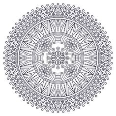 Ornament Beautiful Card With Mandala Geometric Circle Element Made In Vector