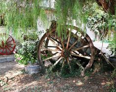 Rustic Decor Wagons and Wheels