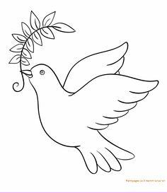 דף צביעה יונה עם עלה של זית Bird Drawings, Animal Drawings, Christian Preschool, Bird Quilt, Butterfly Drawing, Quilling Paper Craft, Simple Cartoon, Bible Crafts, Animal Coloring Pages