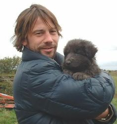 Jay Kay with new pup