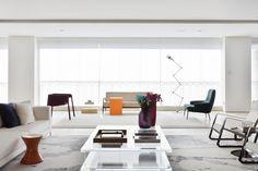Apartamento Leopoldo Couto de Magalhães - Suite Arquitetos / sala de estar / living room / varanda