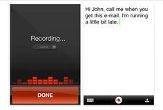 Dragon - Voice Recognition App for Entrepreneurs