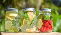 4 DIY Detox Water Recipes - Pin now, read later!