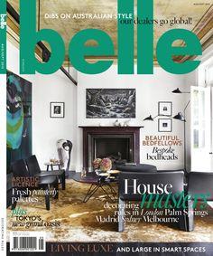 The DL Edit - Interior Design Magazines: Belle Magazine August / September 2015 Australian Interior Design, Interior Design Awards, Interior Design Magazine, Magazine Design, Design Interiors, Belle Magazine, Elle Decor Magazine, Dental Office Design, Healthcare Design
