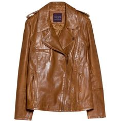 Violeta by Mango Leather Biker Jacket (145 CAD) ❤ liked on Polyvore featuring outerwear, jackets, dark brown, brown biker jacket, womens plus size jackets, plus size motorcycle jacket, brown leather jacket and plus size biker jacket