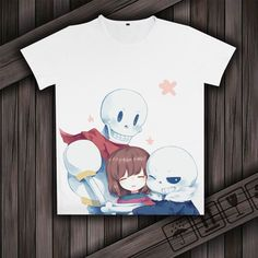 Hot-sale 2016 cool Anime T-shirt Print for Undertale Short Sleeve Otaku Shirt #Unbranded #Casual