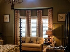 Master Bedroom designed by Shane Meder of Black Sheep Interiors. Draperies sewn by William West Designs. Drapery, Curtains, Black Sheep, Master Bedroom Design, Bedrooms, Design Inspiration, Interiors, Interior Design, Home Decor