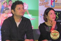 Bollywood actress Shilpa Shukla, Swanand Kirkire and director Ritesh Menon were in the city for the promotion of their upcoming Bollywood film Crazy Cukkad Family.  Read more: http://sholoanabangaliana.in/blog/2014/12/22/upcoming-hindi-film-crazy-cukkad-family-stars-visit-kolkata-to-promote-the-film/#ixzz3OQdZU0C2