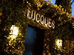 Lucques | West Hollywood [try their orange blossom panna cotta & pink lady for dessert]