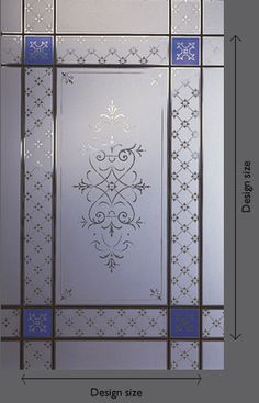 acid etched glass & sandblasted glass available from steven amin glaziers & stained glass studio Glass Shower Doors, Etched Glass Vinyl, Victorian Front Doors, Etched Glass Door, Glass Decor, Victorian Homes Exterior, Door Glass Design, Glass, Glass Design