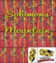 SOLOMONS MOUNTAIN - blog.swiss-paracord.ch