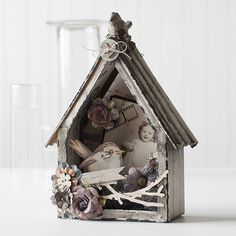 Such a Gorgeous Prima Bird House by Shari Carroll for the Simon Says Stamp blog. August 2014