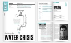 SHIFT PUBLICATION  An annual publication highlighting the TED Prize winner. This issue focuses on the growing global water shortage