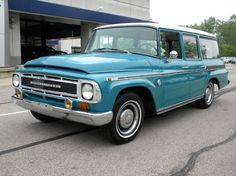 We drove an international travelall for several years.  A real workhorse but really bad fuel mileage.