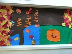 Ms. Lindsay's door for the decorating contest at school!