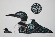Loon - Limitierte Edition Serigraph