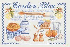 broderie au point de croix Cordon bleu sur toile aida en kit broderie de Marie Coeur 4280