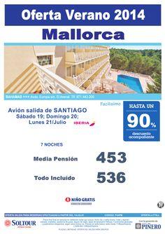 Mallorca: Hasta 90% Hotel Bahamas salidas desde Santiago de Compostela ultimo minuto - http://zocotours.com/mallorca-hasta-90-hotel-bahamas-salidas-desde-santiago-de-compostela-ultimo-minuto/