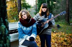 "Addicted to ""When I Grow Up"" by Swedish sisters Johanna and Klara Söderberg of First Aid Kit. Think Fleet Foxes + Joanna Newsom."