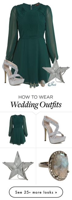 """Winter Wedding Guest"" by josiriou on Polyvore featuring мода, Miss Selfridge, Bettina Duncan, Moschino и Alexis Bittar"
