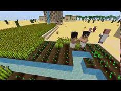 Minecraft   Les PNJ travaillent enfin sur ma map Ramsès II
