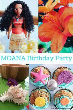 Moana Birthday Party Ideas, Moana Birthday, Moana Party Ideas, Moana Birthday Party, Moana cupcakes, Moana cake